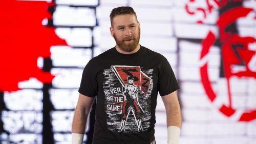 Sami Zayn is on Monday Night Raw