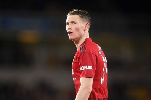 Scott McTominay scored his first goal for Manchester United