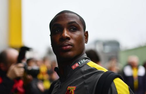 Odin Ighalo moved to the Chinese Super League in 2017.