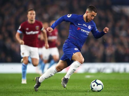 Hazard excelled against West Ham on Monday evening and will be expected to impress again here