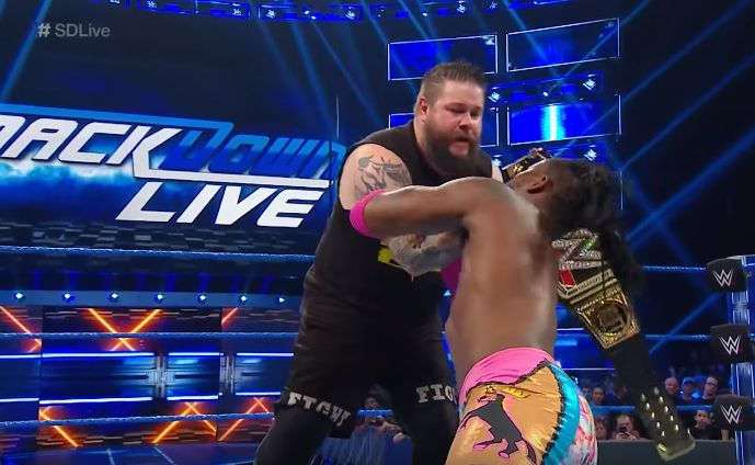 Owens turned heel this past week on SmackDown Live