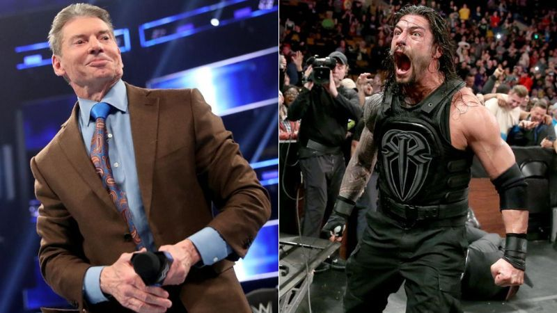 Roman Reigns hit Vince McMahon with a Superman Punch