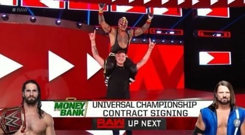 Rey Mysterio was part of another interesting botch this week on Raw
