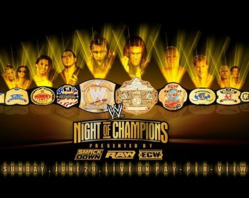 A night where each Championship is defended