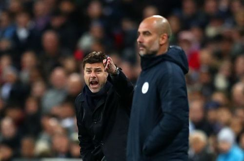 Pep Guardiola and Mauricio Pochettino will lock horns once again for the return leg.