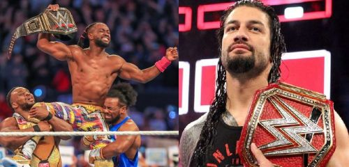 Kofi didn't seem pleased with Reigns' comments.