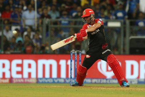 De Villiers demolished the KXIP bowlers when these two teams met earlier in the season(Image courtesy: iplt20.com)
