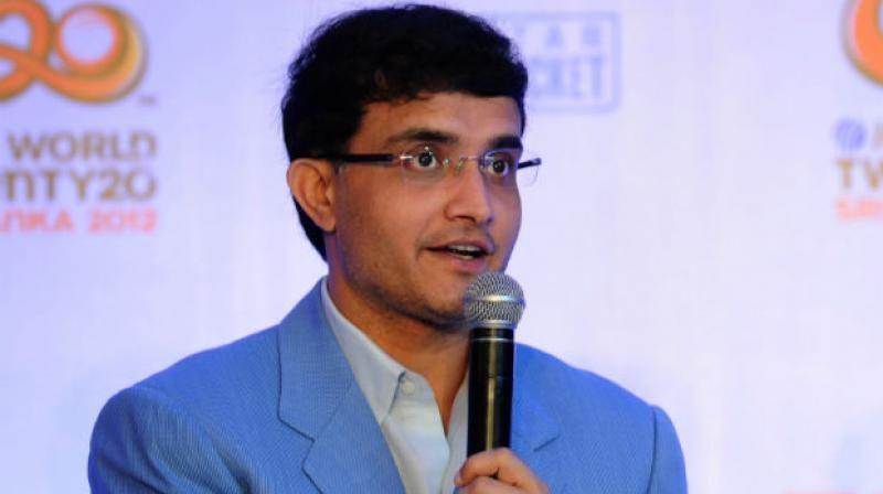 Sourav Ganguly has had his say
