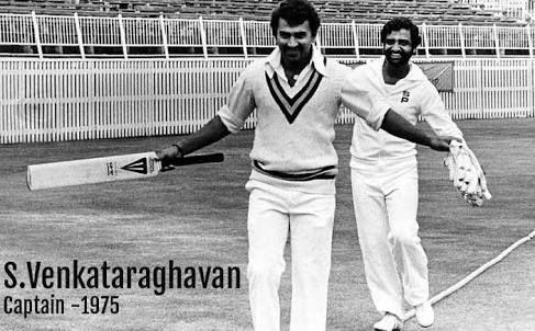 Venkat ragavan the first indian wc team captain