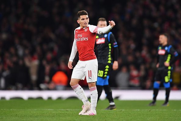 Lucas Torreira has travelled with the squad despite bein injured