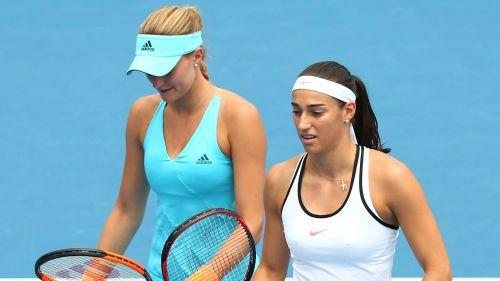 Kristina Mladenovic and Caroline Garcia - cropped