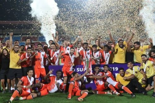 FC Goa were champions of the Super Cup