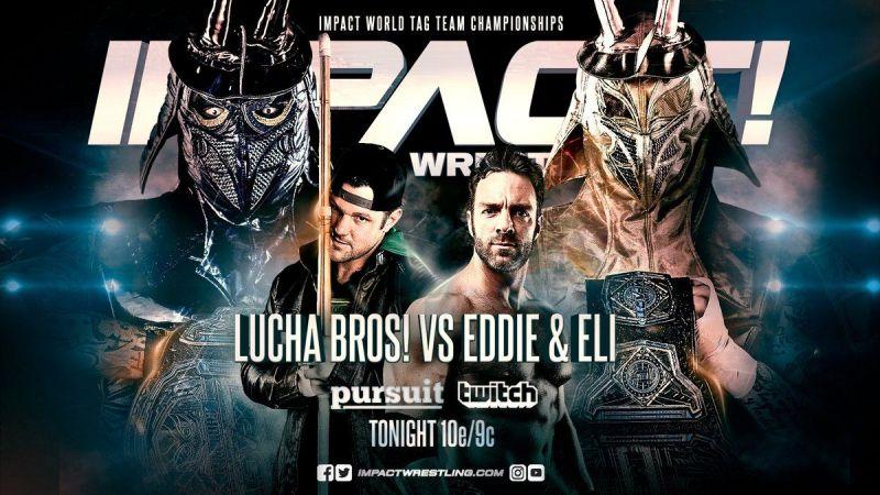 The Lucha Bros had a huge challenge ahead of Rebellion in Eddie Edwards & Eli Drake