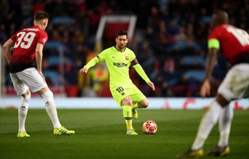 The Blaugrana were not at their fluid best yesterday