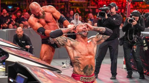 WWE used violence to keep the slow-paced match ticking