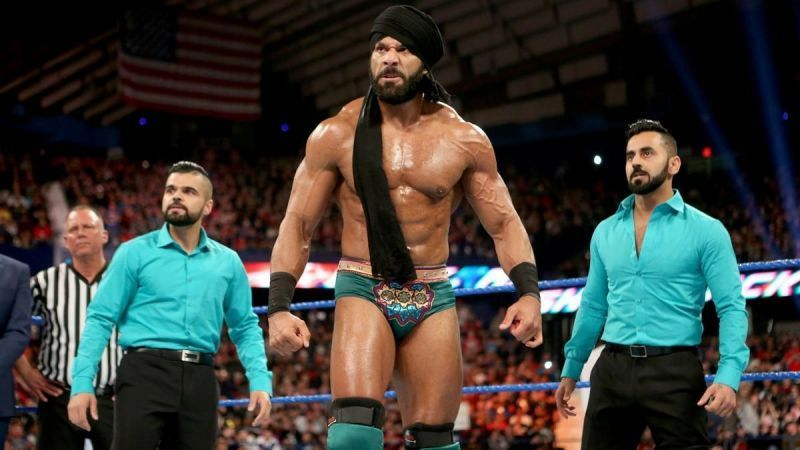 Jinder Mahal and The Sigh Brothers could become the new tag team champions