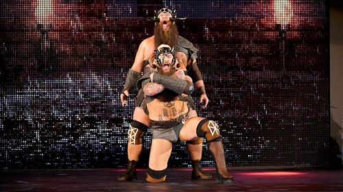 The Viking Experience could become the new Raw Tag Team Champions.