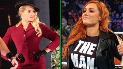 Becky Lynch and Lacey Evans could possibly face each other in the near future