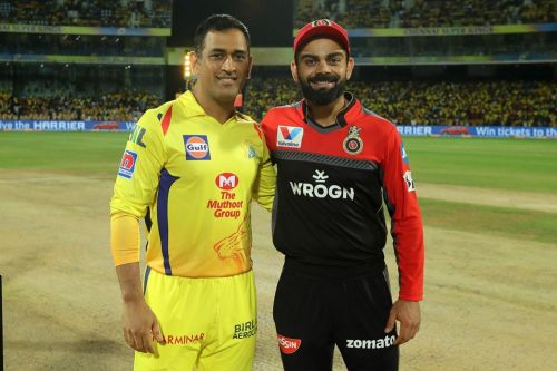 MS Dhoni and Virat Kohli will go head to head (Picture Courtesy- BCCI/iplt20.com)