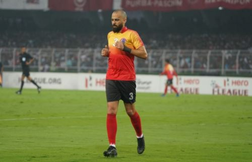 I-League side Quess East Bengal FC have announced the contract extension of their sturdy Centre-back Borja Gomez Perez till the end of the 2020-21 Indian Football season (Image : AIFF)