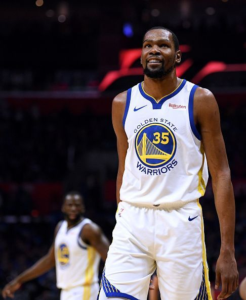 Golden State Warriors have so many players to call upon, but Durant has been most explosive