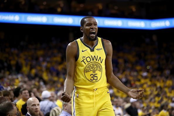 39a8d10d1283 Kevin Durant s future with the Golden State Warriors continues to be in  doubt