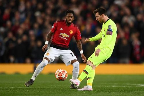 Manchester United v FC Barcelona - UEFA Champions League Quarter Final: First Leg