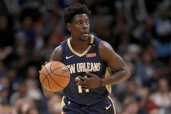 Jrue Holiday could be traded away by the New Orleans Pelicans