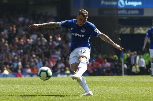 Lucas Digne of Everton FC