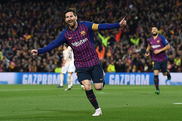 Lionel Messi goal tally for the season remains untouchable, despite a rare blank this week