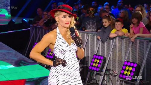 Lacey Evans botched her lines this week on Raw