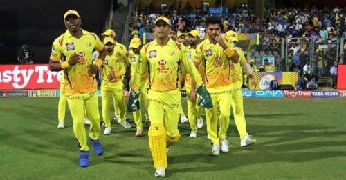 CSK will be looking to get their third win against KXIP on Saturday (Image Courtesy:IPLT20/BCCI)