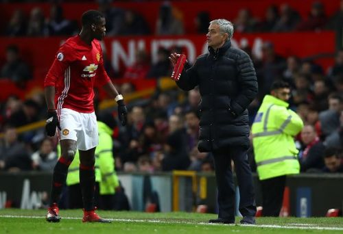 Pogba and Mourinho never did get along...