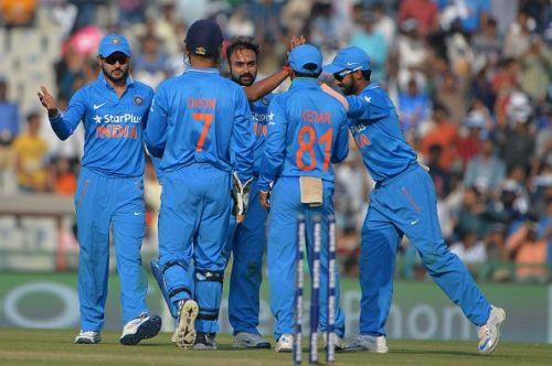 Mishra took a fifer in his last ODI (against NZ, 2016)