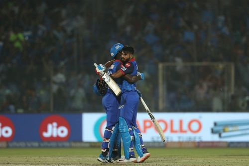 Shreyas Iyer scored a match-winning 58* to see his team home. Image Courtesy: IPLT20/BCCI
