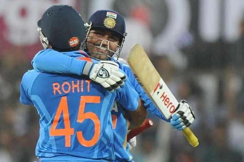 Rohit Sharma And Virender Sehwag