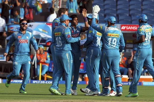 Pune Warriors Team