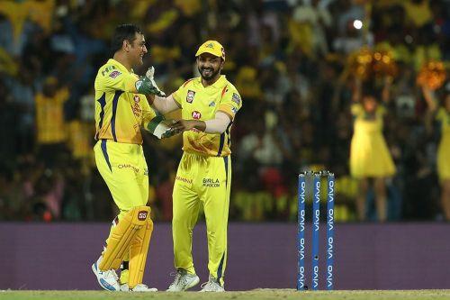 Chennai Super Kings are back on top! (Image courtesy: IPLT20/BCCI)