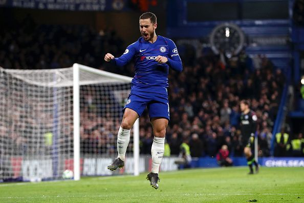 The Belgian put up a spectacular performance at Stamford Bridge