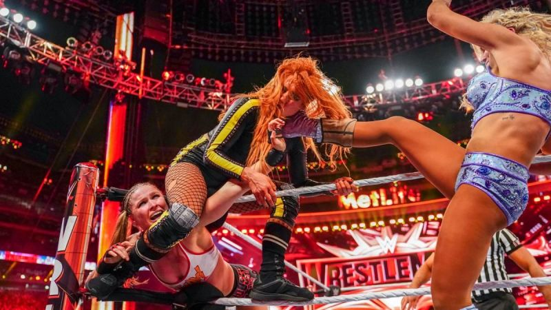 was the finish of wrestlemania 35 main event botched?