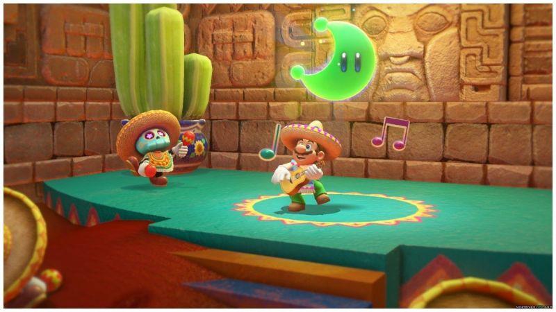 Super Mario Odyssey Screengrab