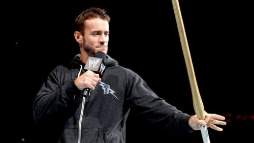 CM Punk last competed in an official match in 2014