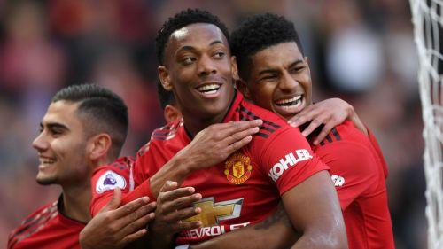 Pereira, Rashford, and Martial (Image Credits: premierleague.com)