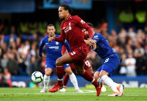 The Van Dijk led Liverpool defence has conceded the least number of goals