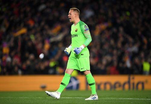Ter Stegan had sympathy for fellow goalkeeper David De Gea