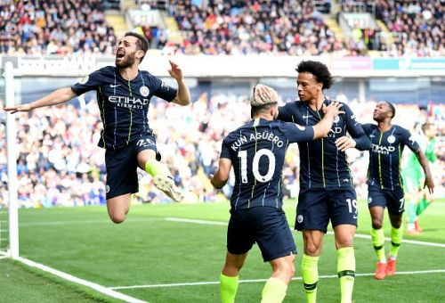 Manchester City look the current favourites to defend their Premier League title