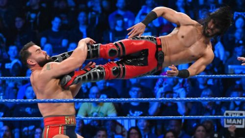 Ali picked up a big win for his team on SmackDown
