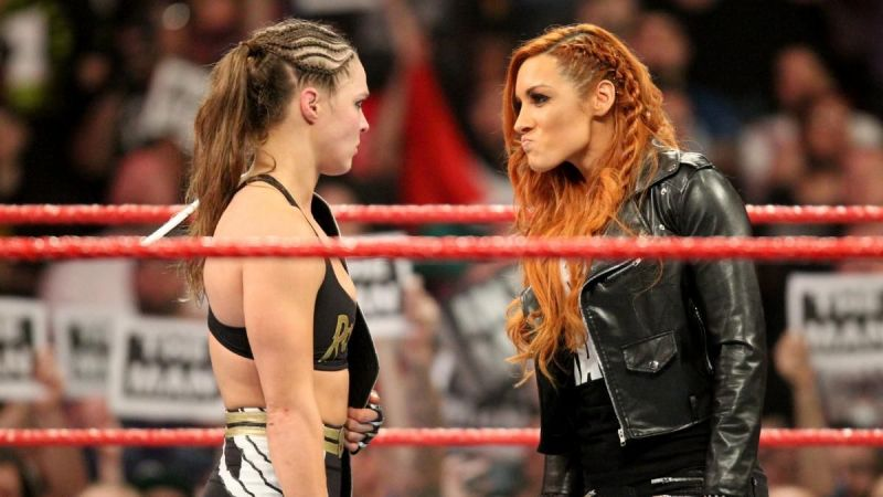 Becky Lynch, Ronda Rousey, and Charlotte Flair could break a few records