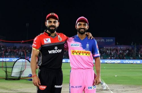 RCB vs RR would turn out to be a virtual knockout (Picture courtesy: iplt20.com)