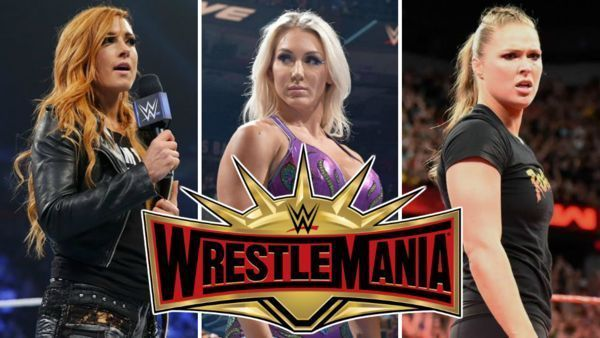 WrestleMania 35: WWE RAW Women
